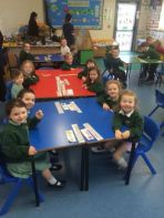 Our Visit to Mrs Farrell P1 Teacher