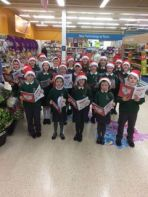 Choir Sing at Tescos Dungannon