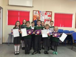 Winners of the School Handwriting Competition