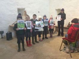 P3,4,5 & 6 Trips to Benburb Castle with the RSPB