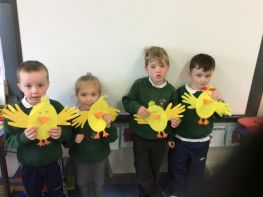 P1 Easter Artwork