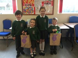 Tesco Colouring in Competition winners
