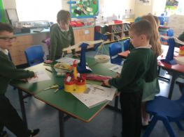 P3/4 Enjoy measuring with scales.