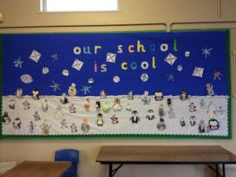 Afterschool Winter Display