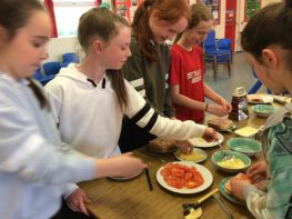 Girls Afterschool Cookery with Mrs Murtagh