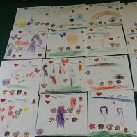 P1/2 Mother's Day Art