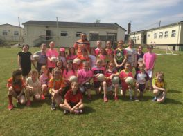 GAA All Star Coaches St. Peters' Girls!
