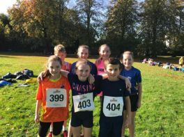 St. Peter's Pupils Cross Country Run