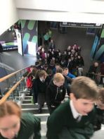 P5,6&7 Trip to the SSE Arena American Basketball